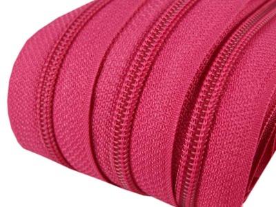 Spirale Reißverschluss mm Meterware pink 2m