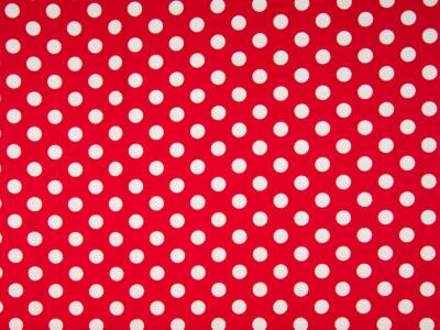 05 m Jersey rot-weiß große Punkte