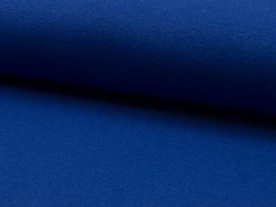05 m Bündchen Feinripp royalblau