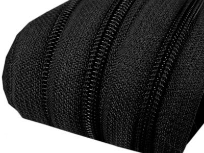 Spirale Reißverschluss mm Meterware schwarz 2m