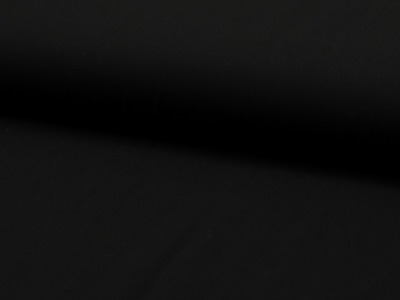 05 m Viskose Webware schwarz