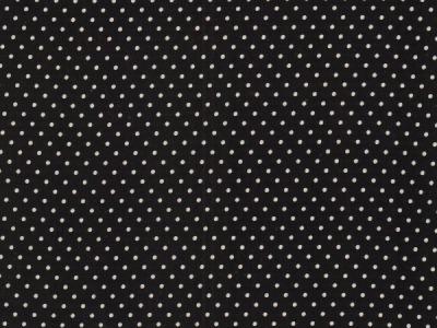 BW Webware kleine Punkte 2mm schwarz