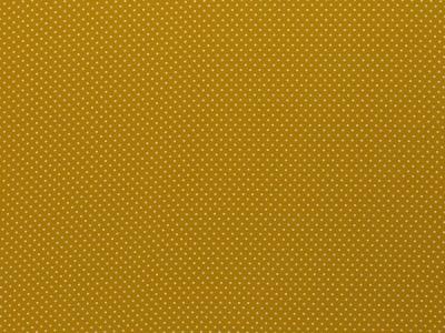 BW Webware kleine Punkte 2mm senf