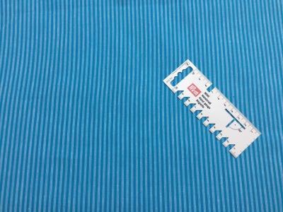 05 m BW Webware Streifen türkis