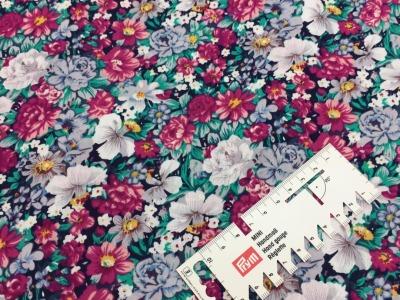 05 m BW Webware Blumen pink