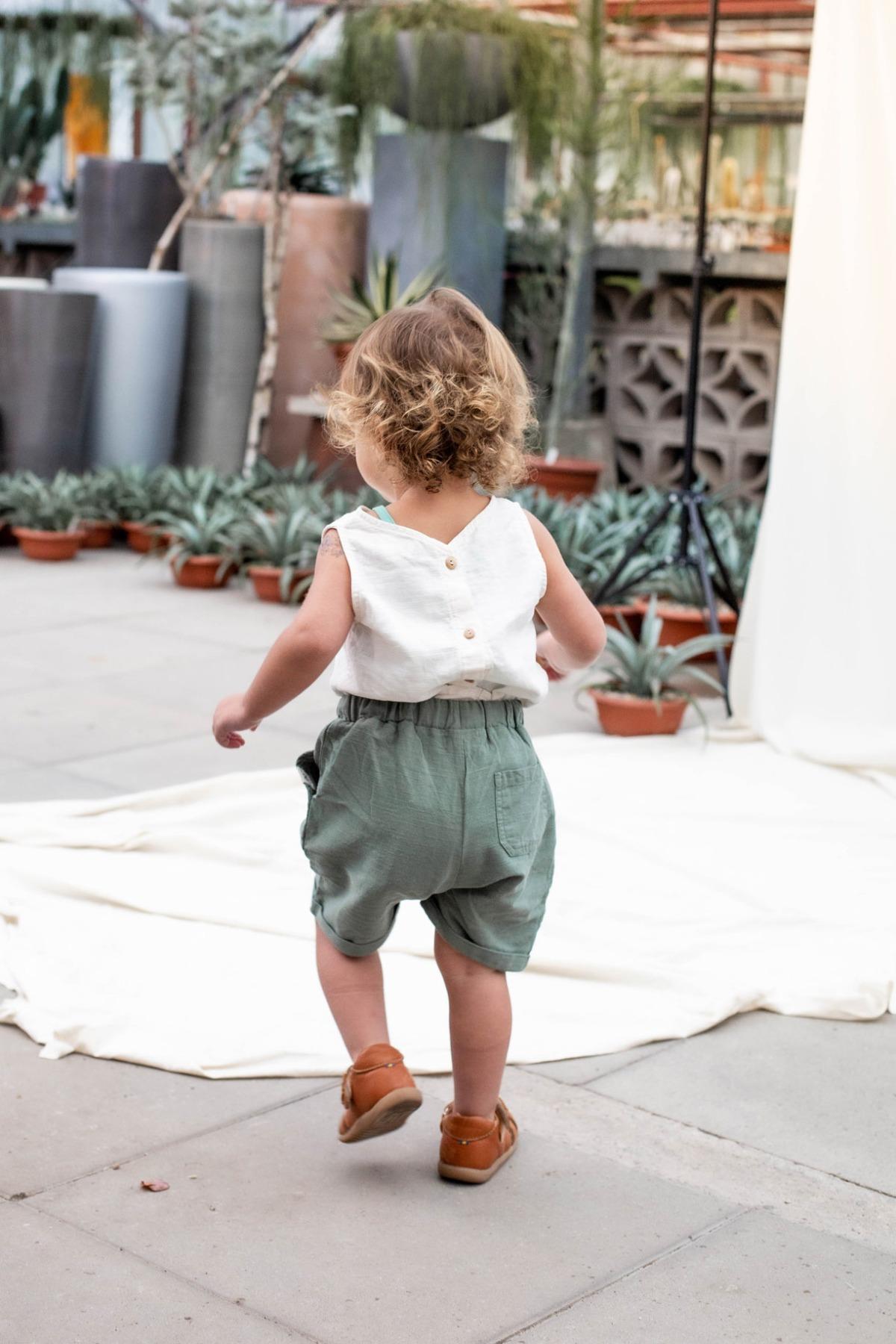 Malaga Shorts kurze Hose mit Umschlag