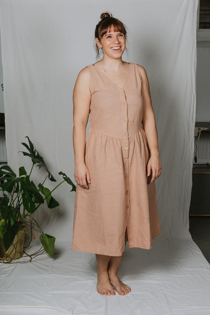 Badalona Dress Ärmelloses Kleid mit Taschen