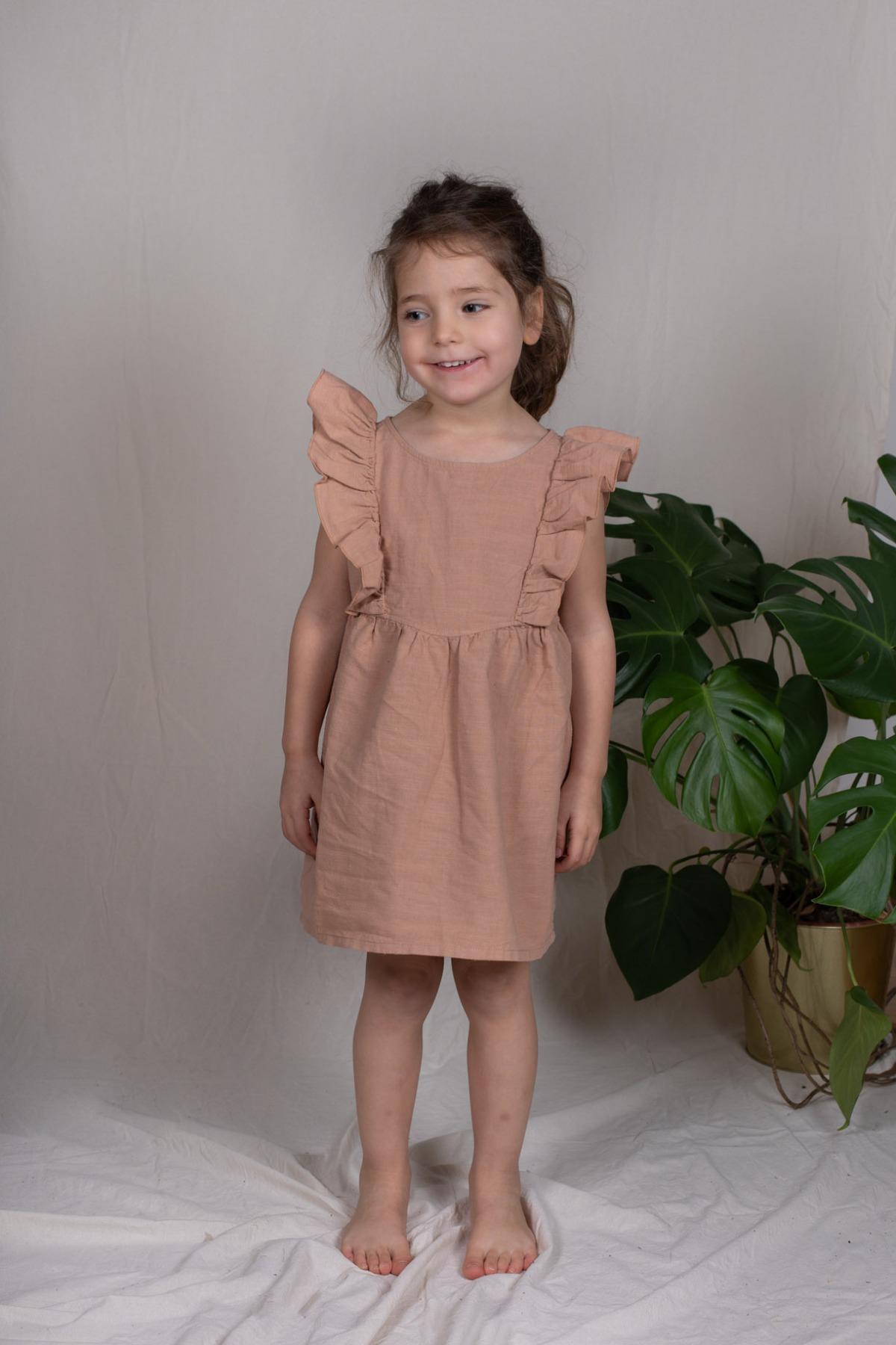 Mollet Tunika Tunika Kleid mit Volants