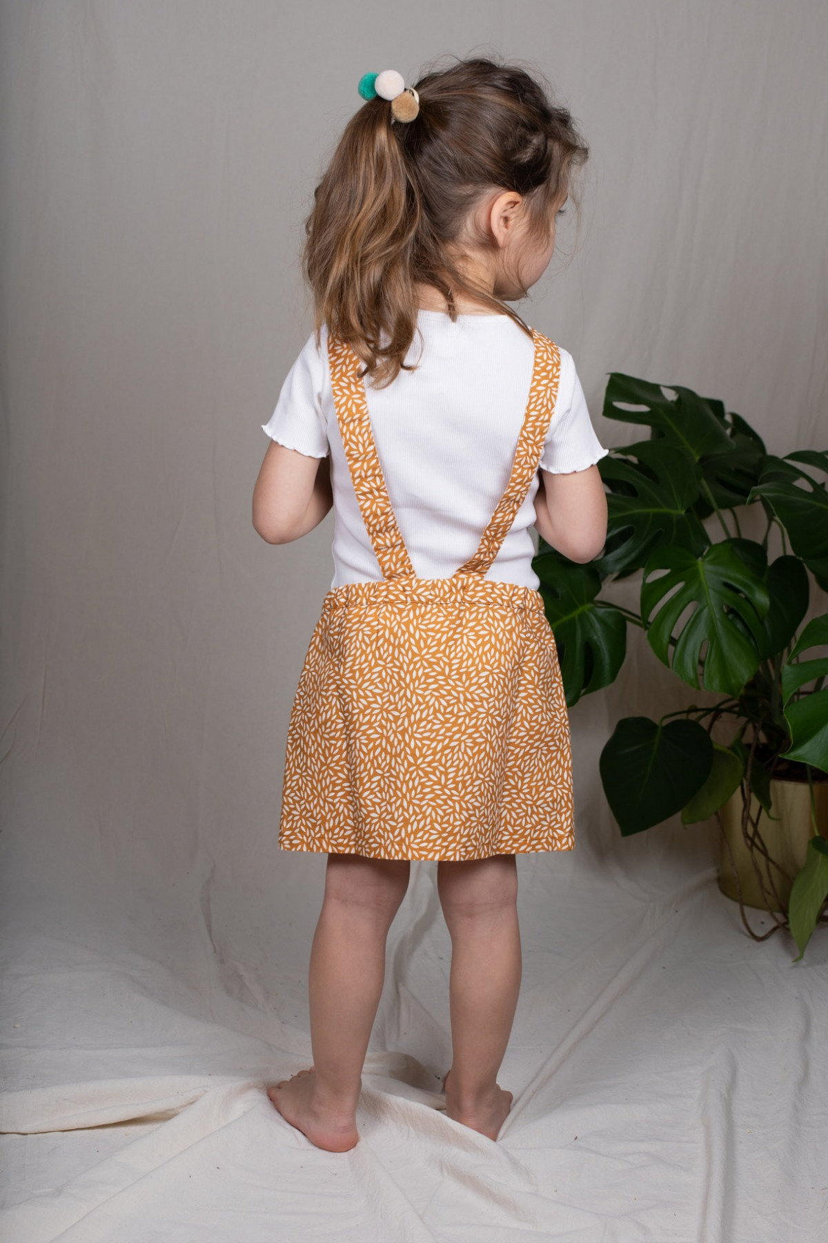 Mataro Skirt Latzrock mit abnehmbaren Träger