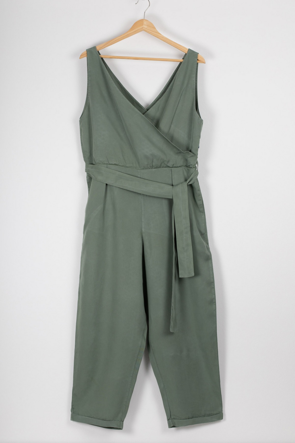 Murcia Jumpsuit Einteiler in Wickeloptik bough