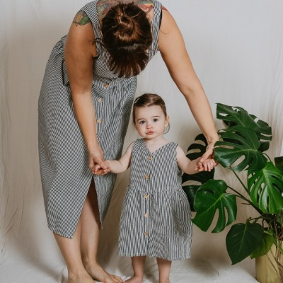 Badalona Dress Sleeveless dress with pockets