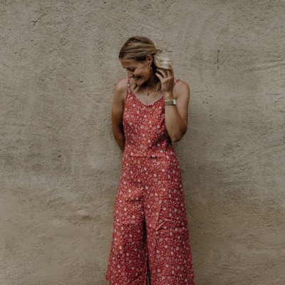 Formentera Jumpsuit One-piece patterned with nice