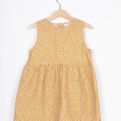 Merida Dress Ärmelloses Sommerkleid mit allover