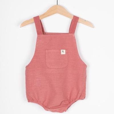 Marbella Romper Babyeinteiler mit mitwachsenden Träger