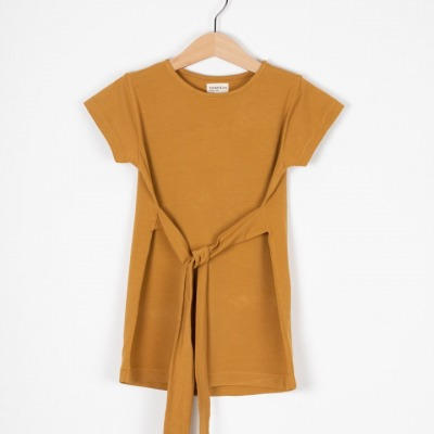 Madrid Dress Organic Jersey Dress with