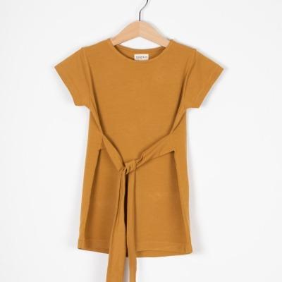 Madrid Dress Bio Jerseykleid mit Bindegürtel