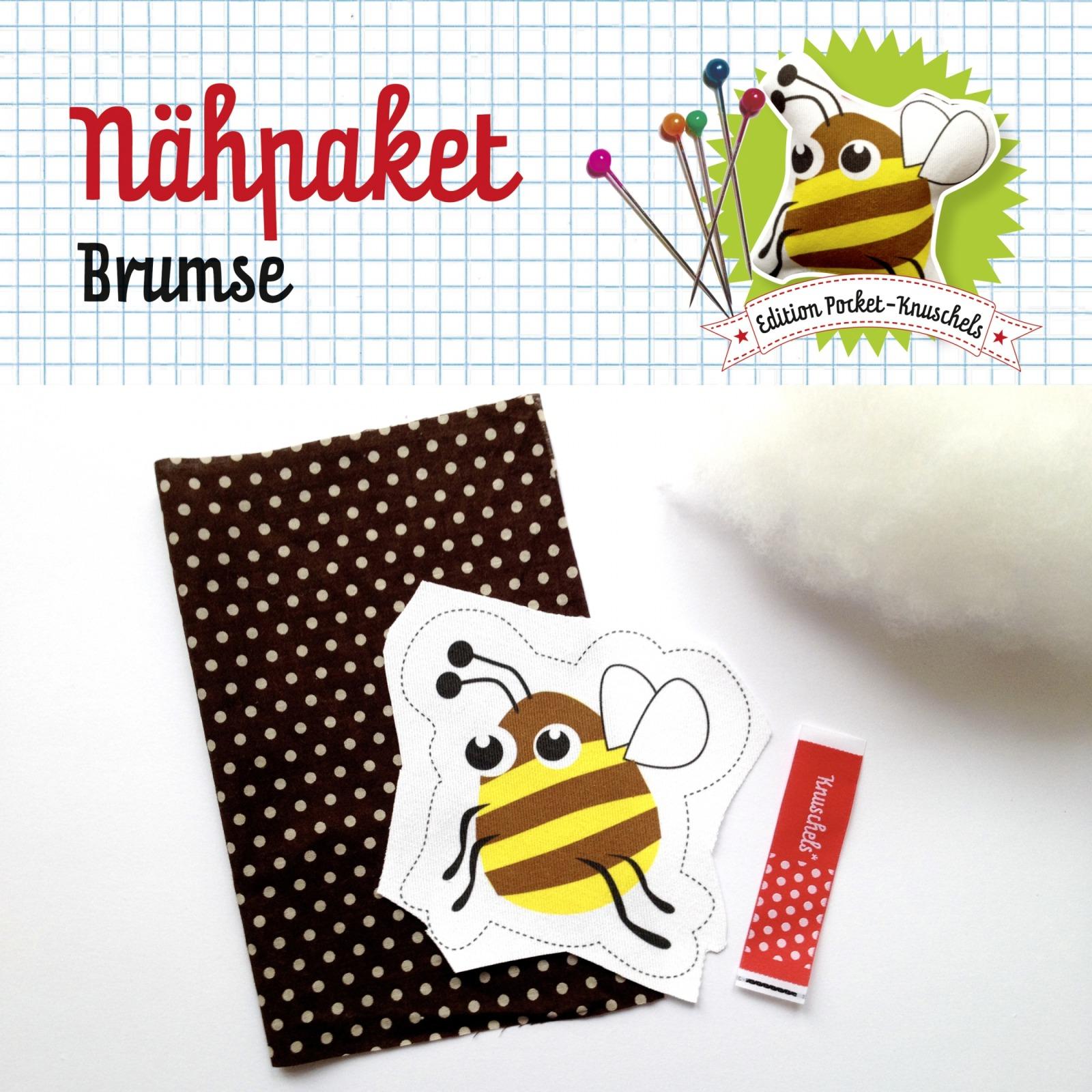 Naehpaket Brumse Biene