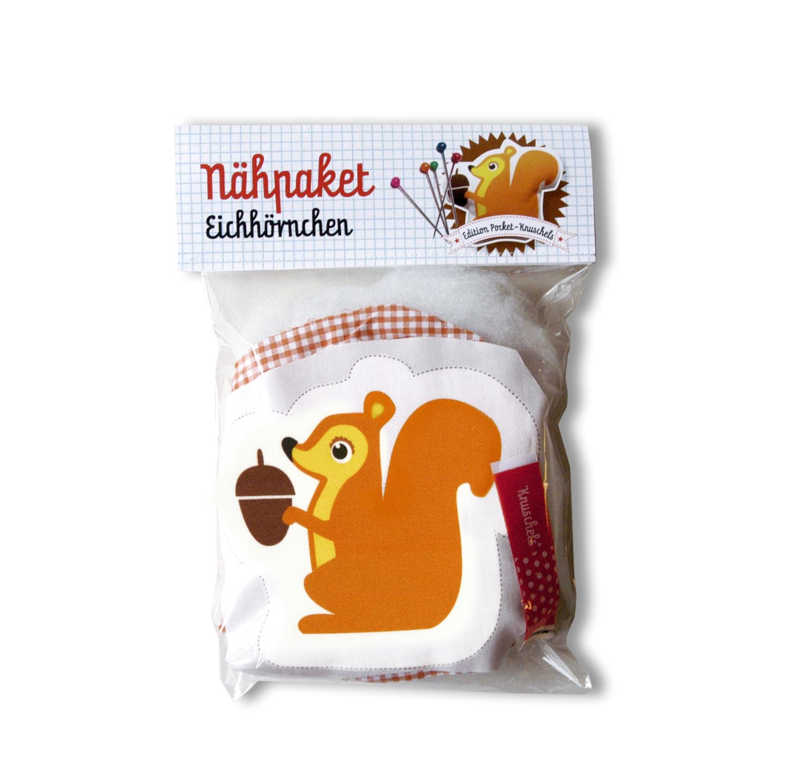 Naehpaket Pocketknuschel Eichhoernchen