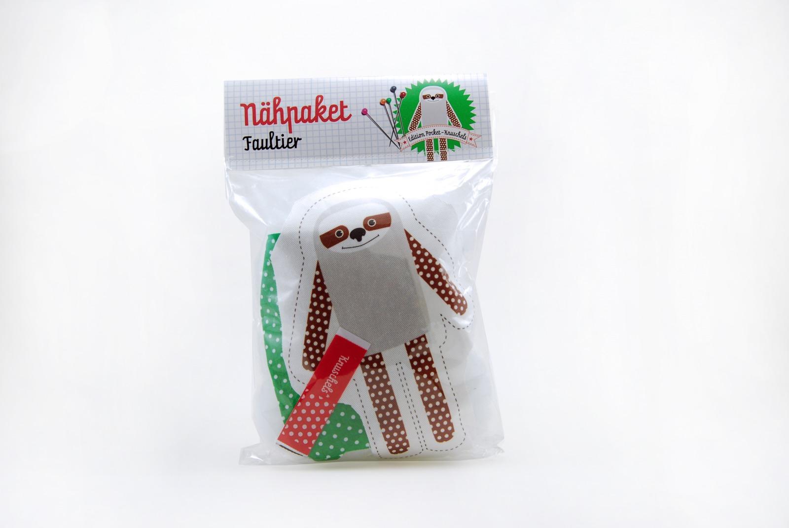 Naehpaket Pocketknuschel Faultier