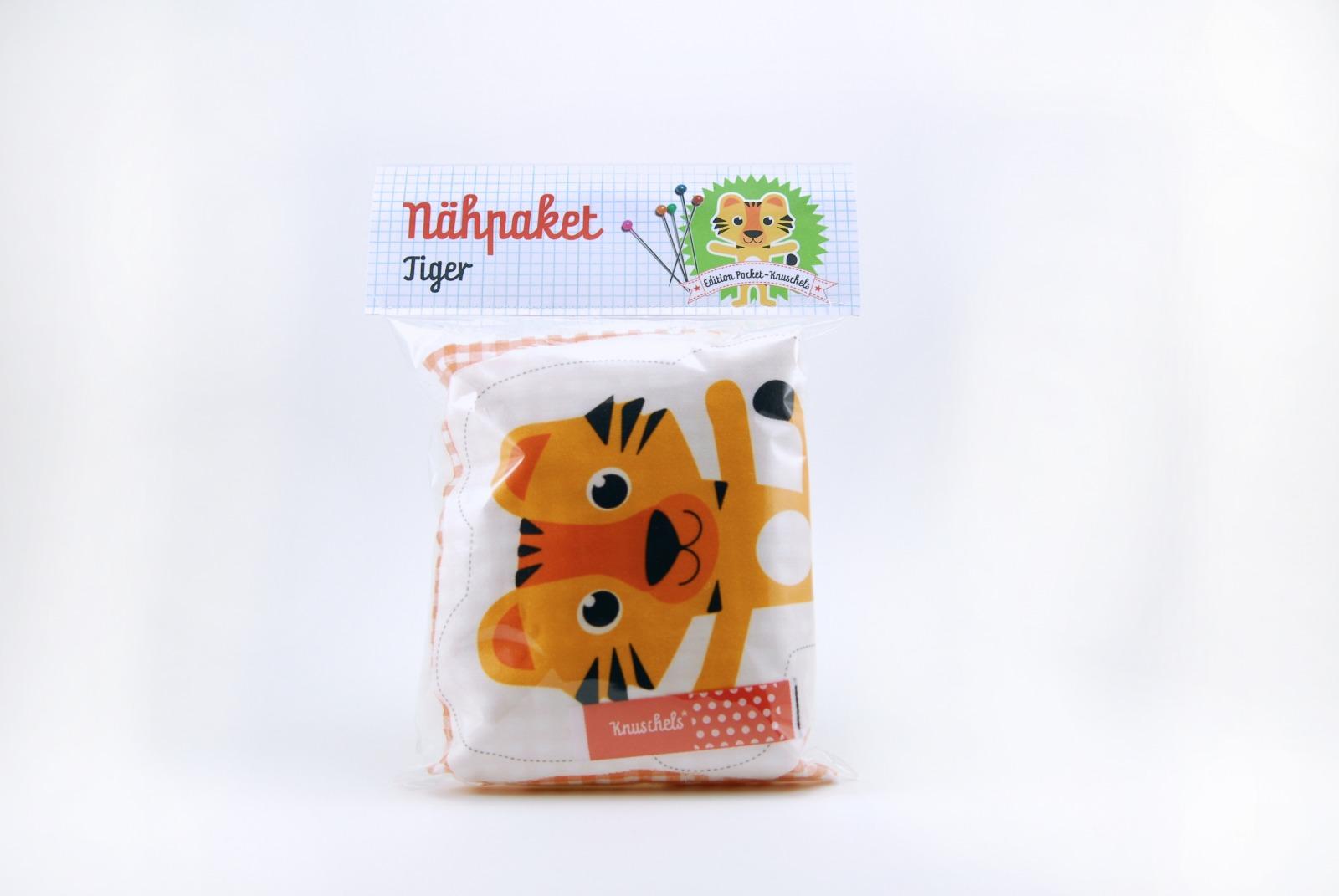 Naehpaket Pocketknuschel Tiger