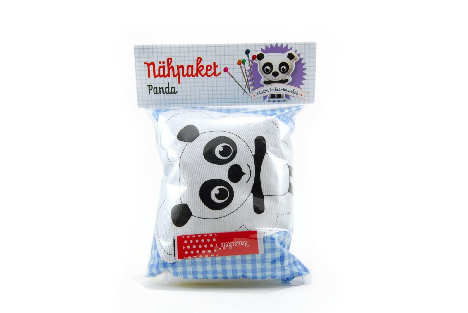 Nähpaket Panda - 1