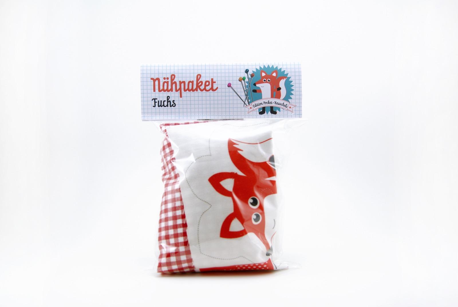 Naehpaket Pocketknuschel Fuchs