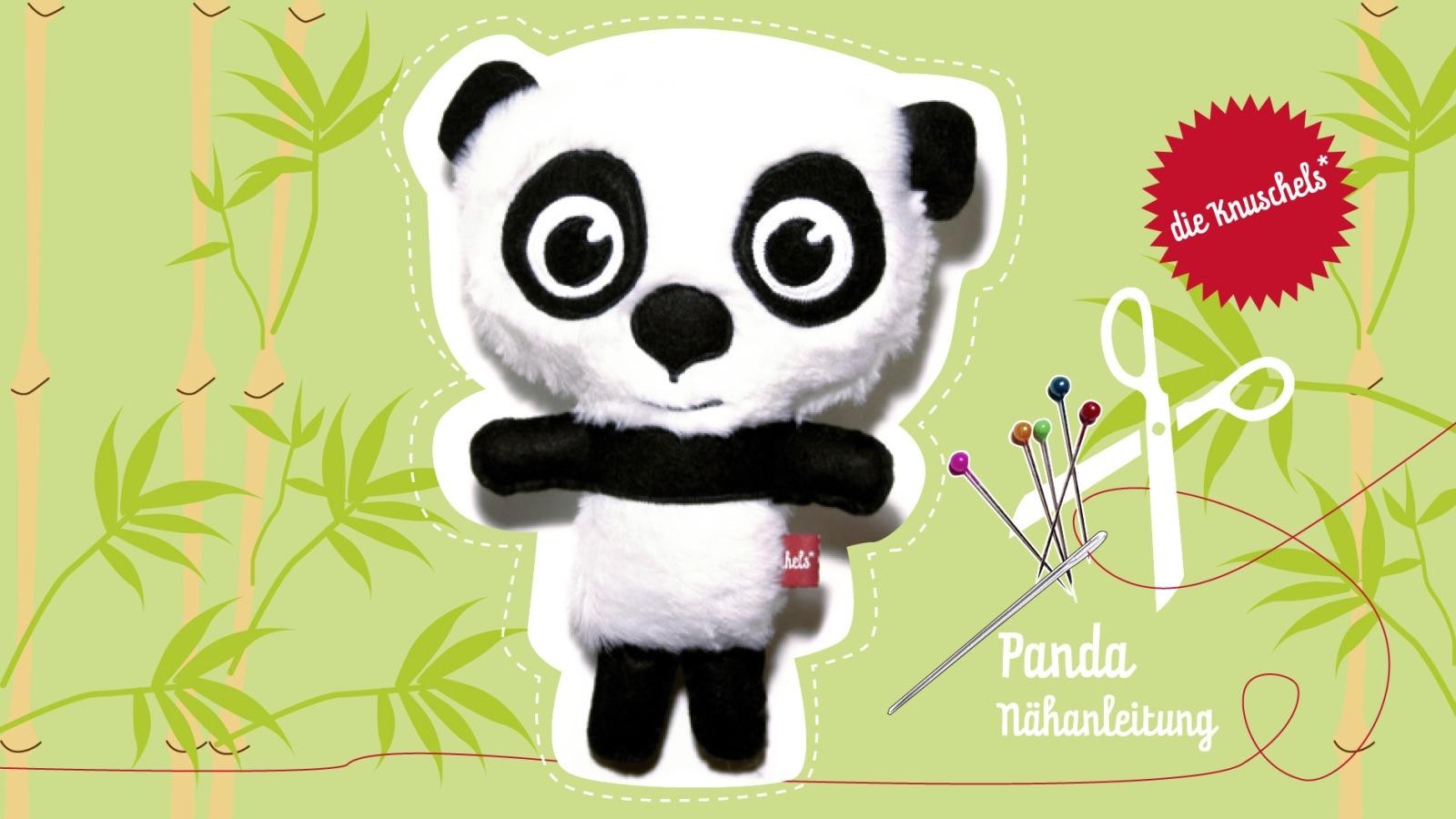 Panda Naehanleitung und Schnitt
