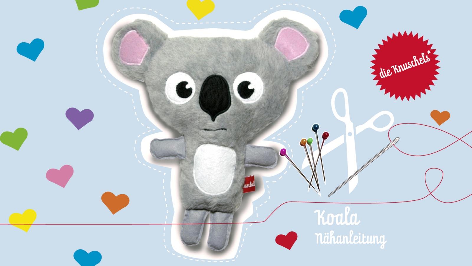 Koala Naehanleitung und Schnitt