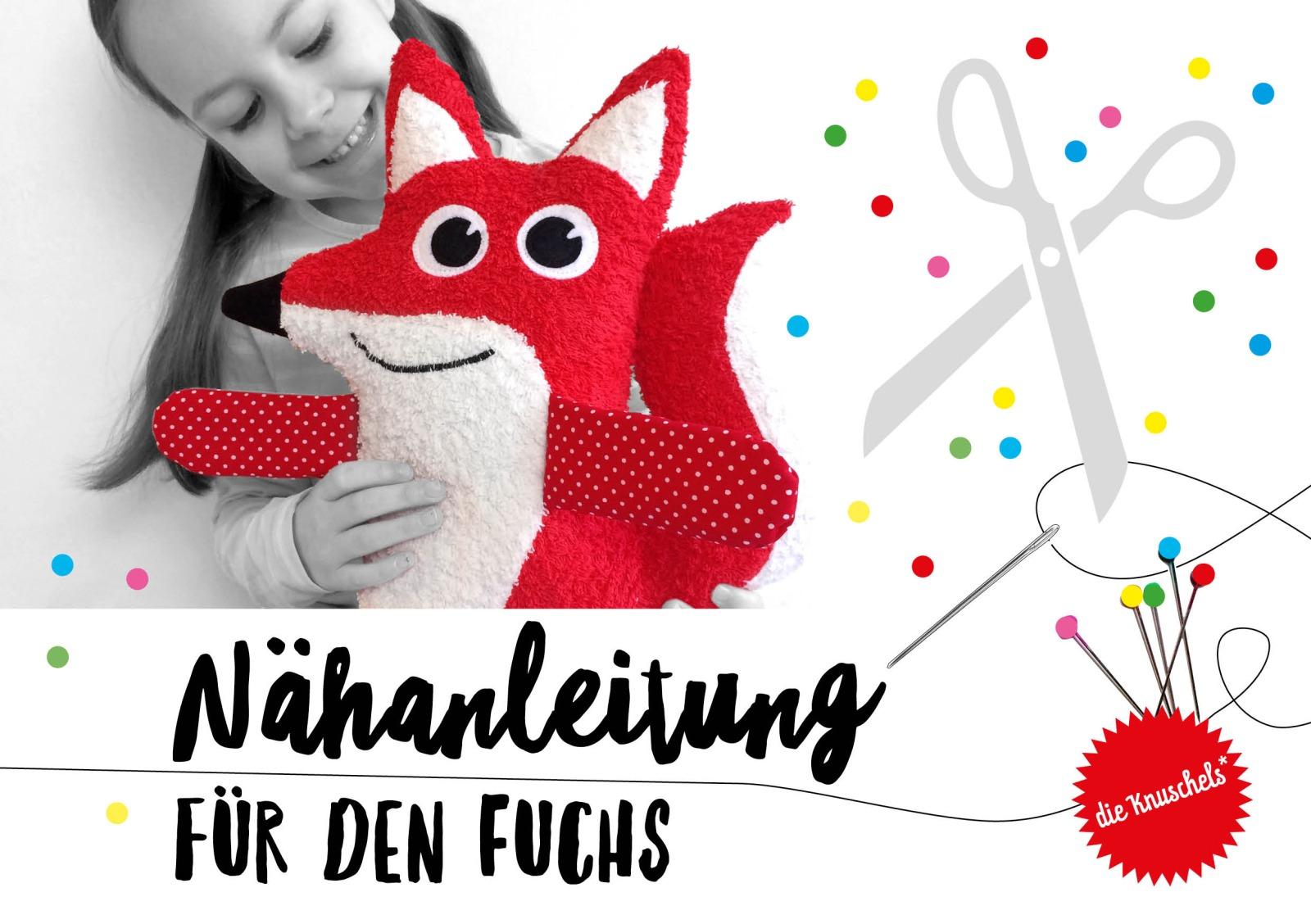 Fuchs Nähanleitung und Schnitt - 1