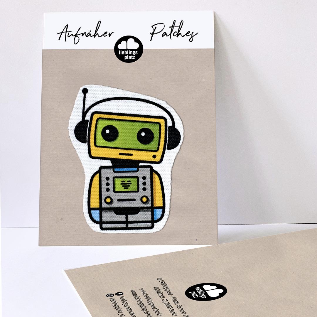 Aufnäher Roboter - 1