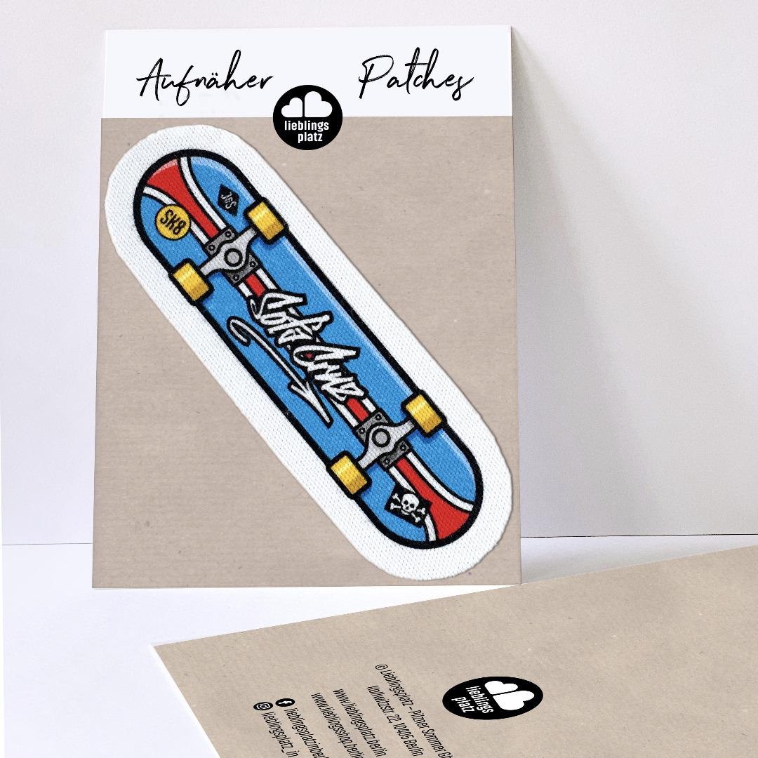 Aufnäher Skateboard - 1