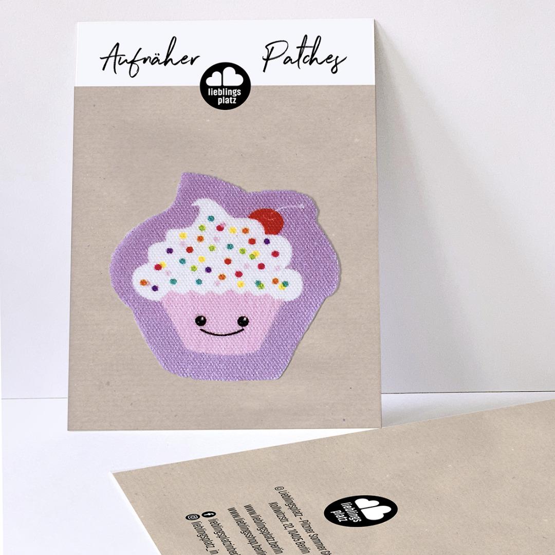 Aufnäher Cupcake - 1