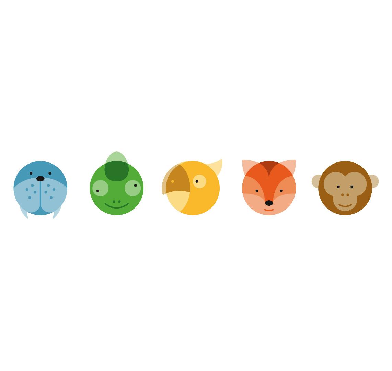 Emailletasse Circimals Tiere Emaillebecher Tasse Tierbilder Kinderzimmer Kindertasse Tasse für Kinder - 3