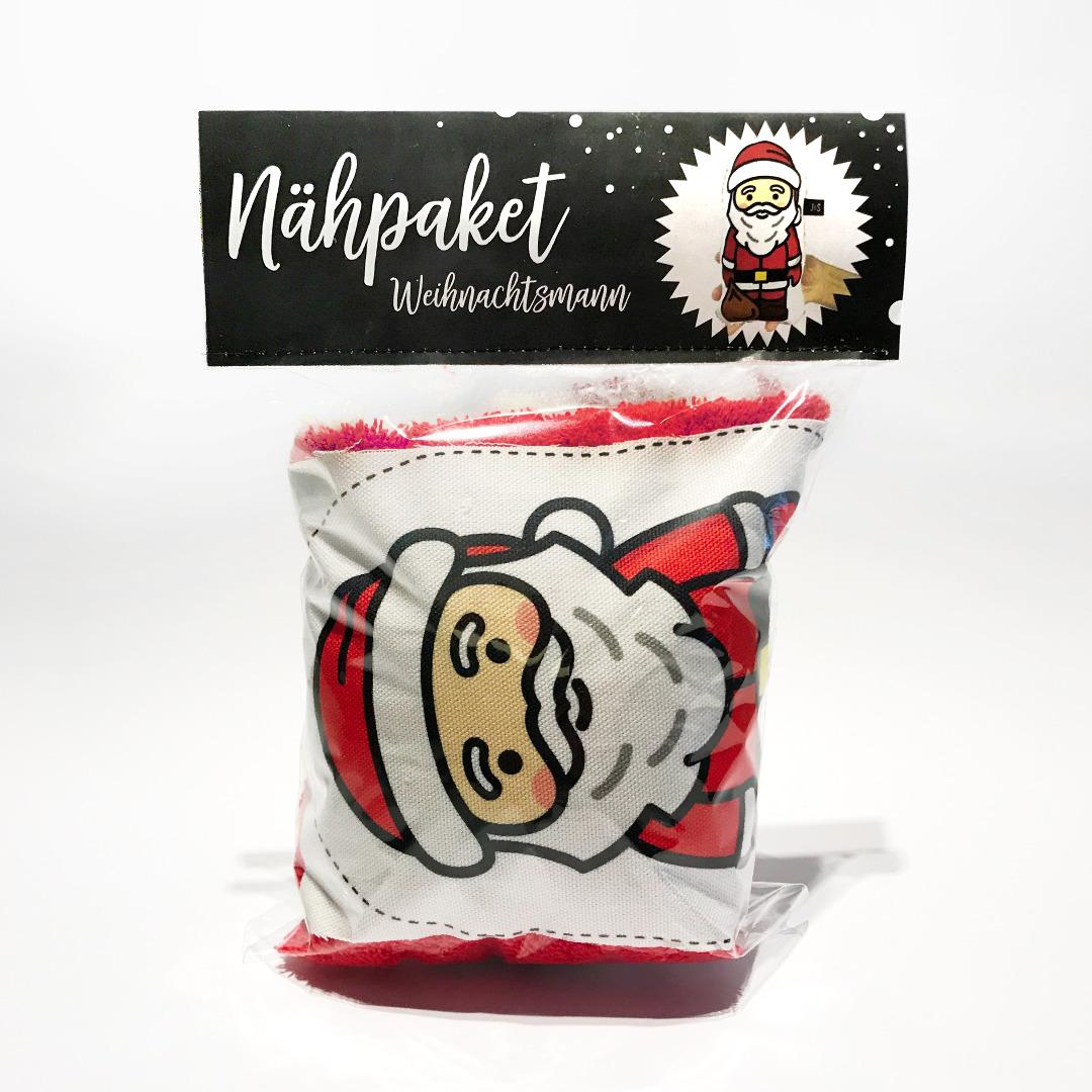 Naehpaket Weihnachtsmann