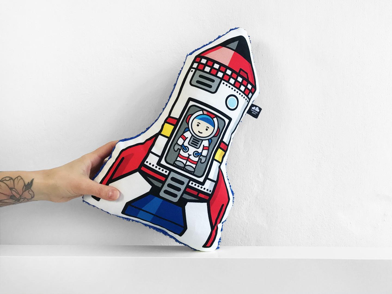Raketenkissen Astroalex - 1