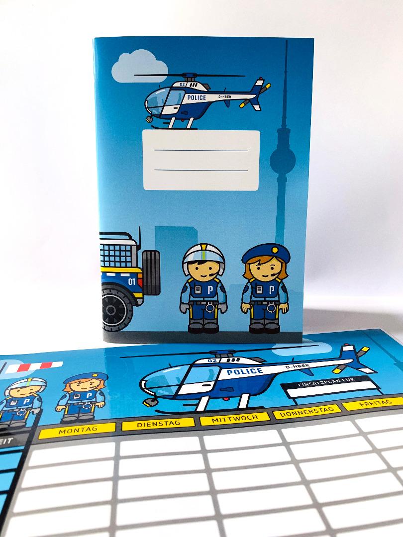 SET / Stundenplan & Schulheft Polizei - 2
