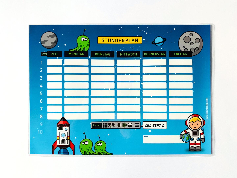 Stundenplan Astronaut - 1