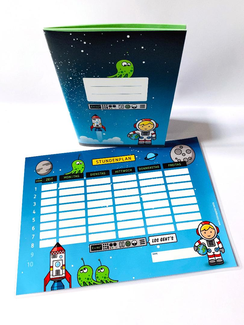 SET / Stundenplan & Schulheft Astronaut - 2