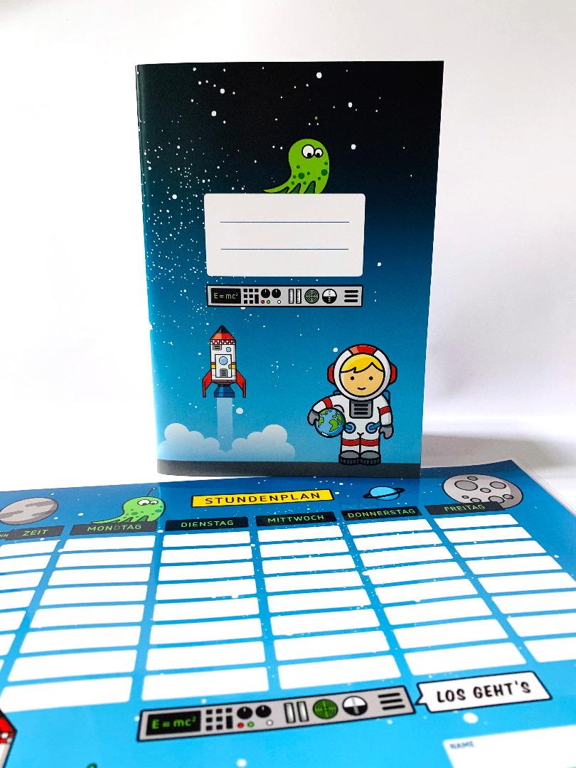 SET / Stundenplan & Schulheft Astronaut - 1