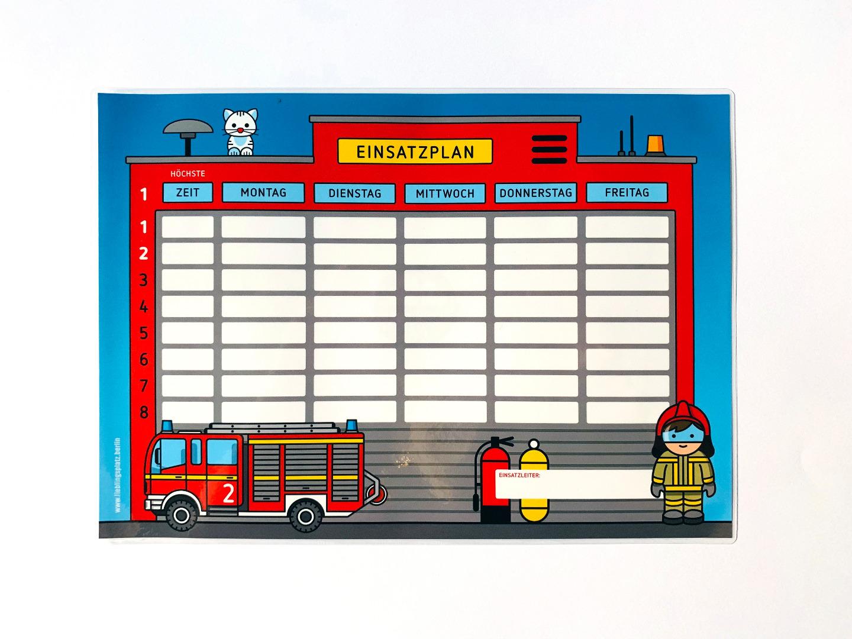 Stundenplan Feuerwehr - 1