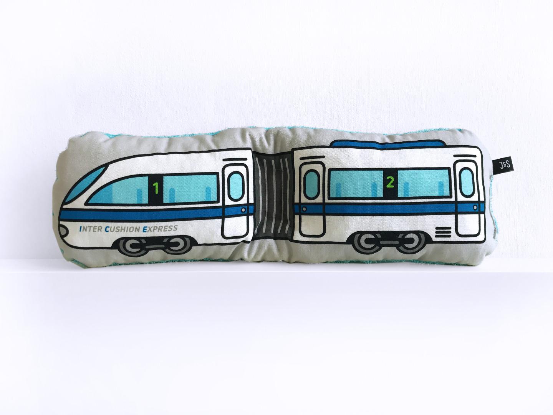 Zug Kissen Schlenkerzug groß - 2