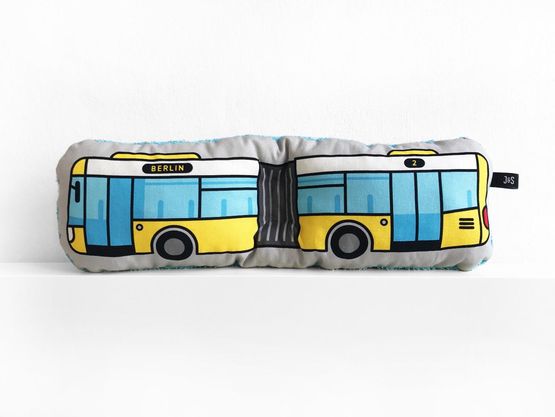 Bus Kissen Schlenkerbus groß - 2
