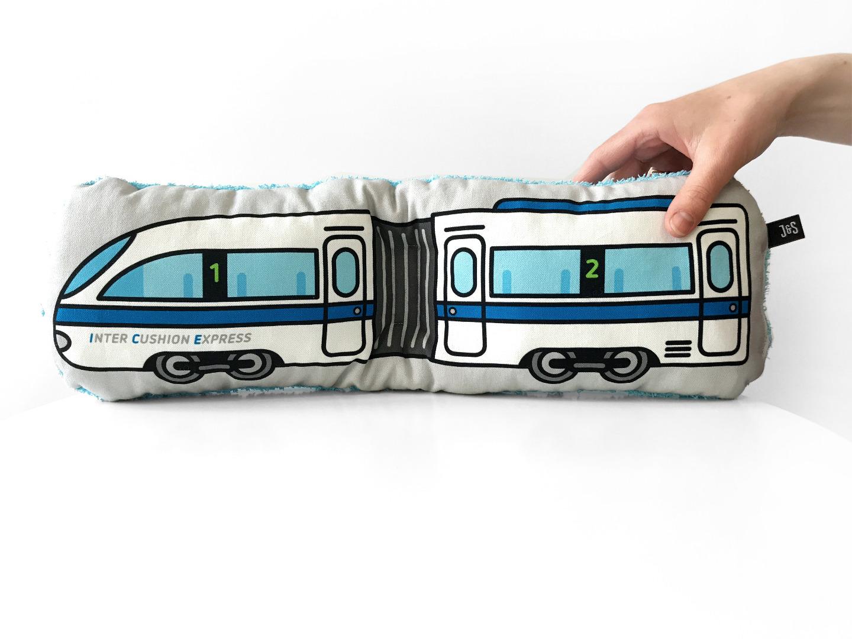 Zug Kissen Schlenkerzug groß - 1