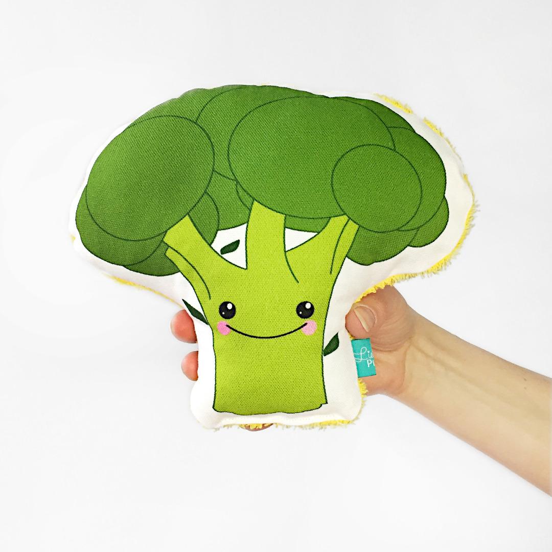 Brokkoli Rassel, Gemüserassel, Vegetable, gesunde Rassel - 1