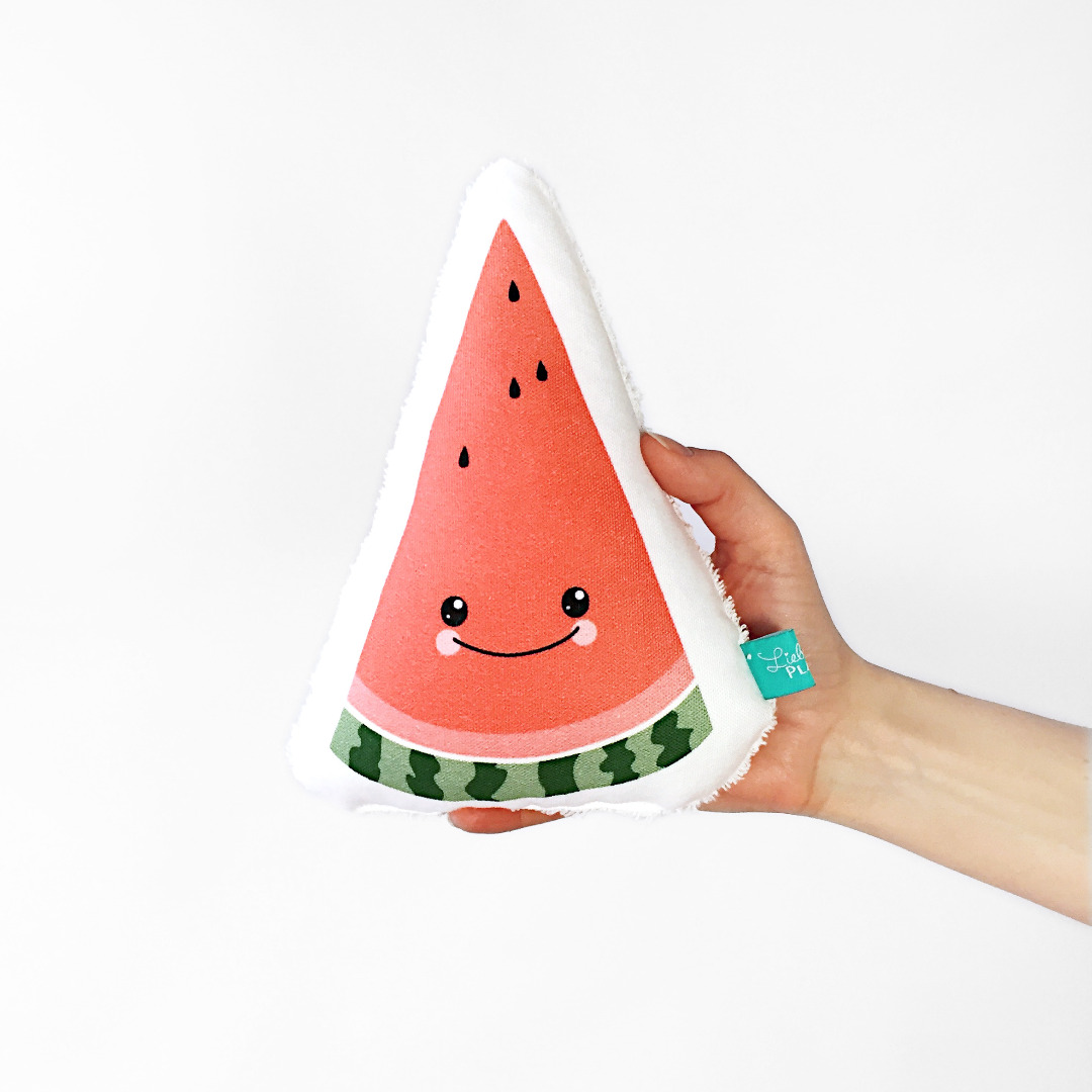 Melonen Rassel Gemueserassel Vegetable gesunde Rassel