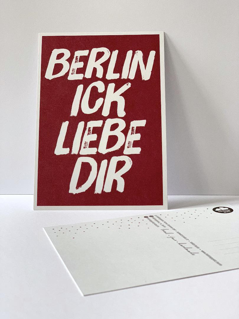 10 Postkarten Set // Berliner Mundart - 2