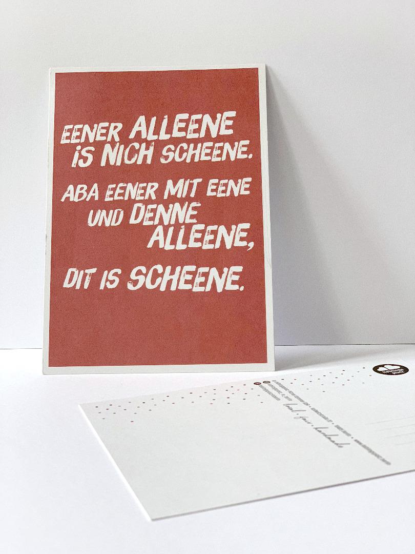10 Postkarten Set // Berliner Mundart - 9