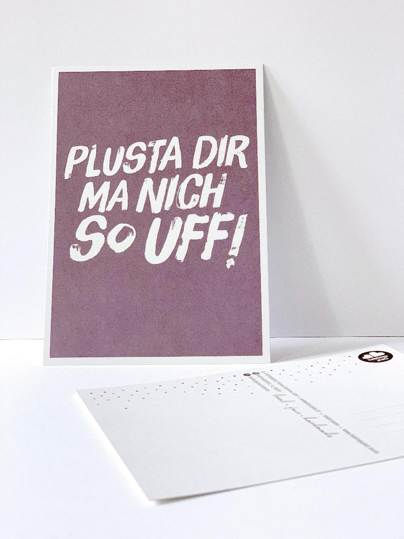 10 Postkarten Set // Berliner Mundart - 10