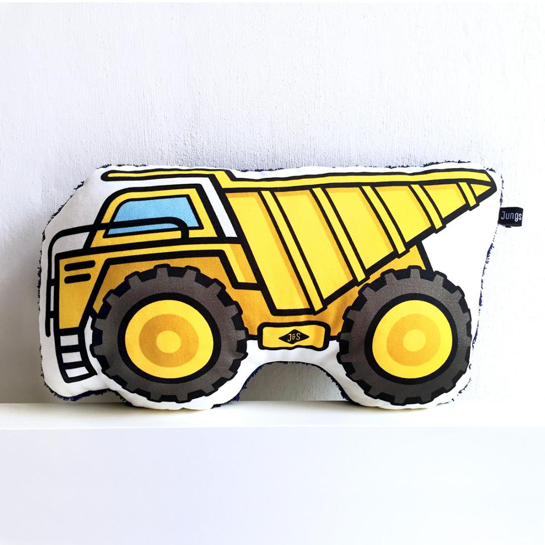 Baufahrzeug Kissen