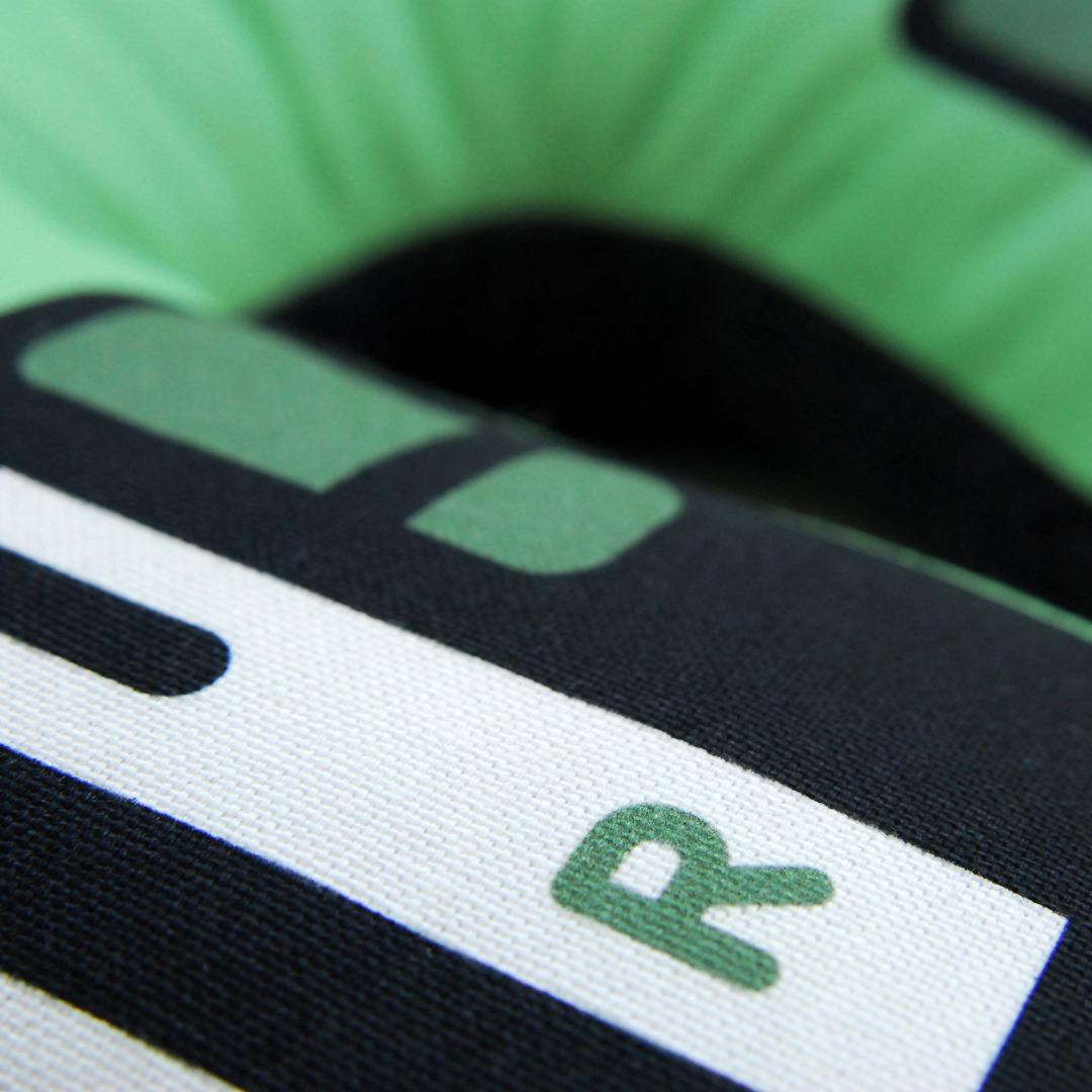 Kopfhörer Nackenkissen grün KIDS 4